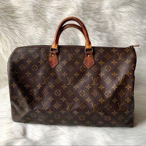 Authentic Louis Vuitton Speedy 40 Bag